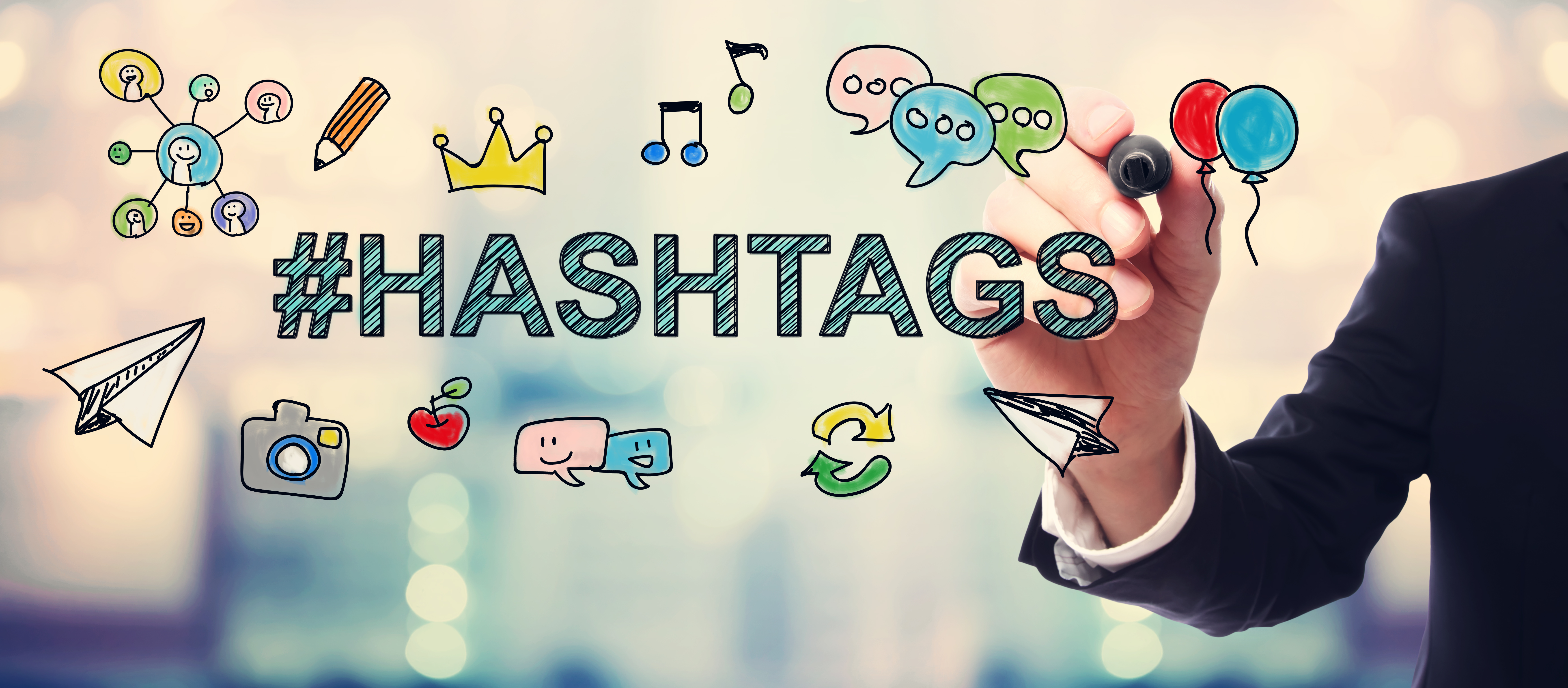 Hashtag Strategy: Use hashtags to promote your brand